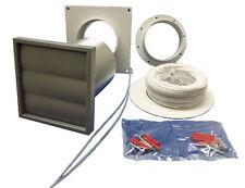Manrose 100mm tumble dryer venting kit wall ducting ventilation fan kit 41703