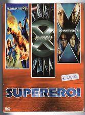 dvd Cofanetto SUPEREROI I FANTASTICI 4, X-MEN, X-MEN 2 Contiene 3 DVD