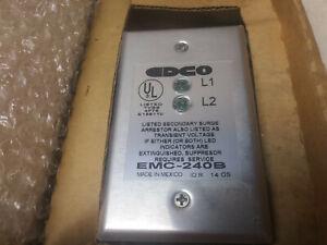 EDCO EMC-240B surge arrestor 150vac max