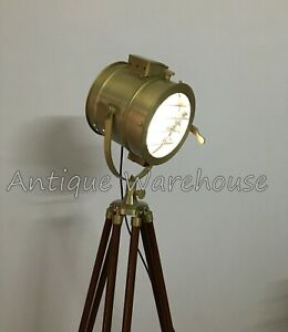 Conner Spot Light Floor Lamp Vintage Modern Studio Searchlight Home Decorative