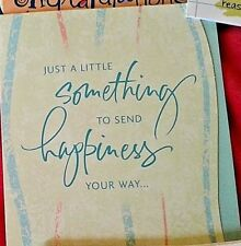 """JUST A LITTLE SOMETHING TO SEND HAPPINESS"" GRADUATE MONEY CARD!  RETAILS $2.79"