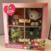 Sanrio Friends Hello Kitty 50th Anniversary Collectible Plush Set Jacks Target