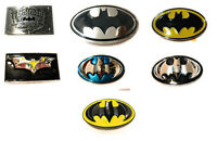 Classic Logo Batman belt buckle many styles ! DC Comics cosplay collectible !USA