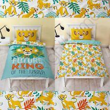 Disney Roi Lion Hakuna Set Housse de Couette Simple Panneau Literie Enfant