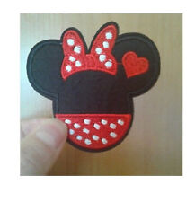 Minnie Mouse - Disney - Valentine's Day - Love - Embroidered Iron On Patch