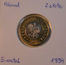 Poland Polen 2 zł zlote 1994 UNC