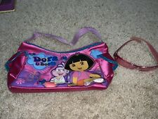 Dora the Explorer With Boots Hand Bag Purse Girls And Pink Dora Sunglasses