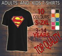 SUPER MAN FLY HIGH HELP SAVER SUPER HERO SUPERHERO ADULTS KIDS T SHIRT NEW TEE