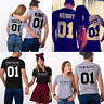 Couples T-Shirts Matching Couples Tee Tops Anniversary Shirts Valentines Tops