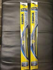 "2 RainX 5079283-2 Latitude Water Repellency Wiper Blades 17"" New sealed"