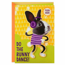 Bunny Dance Musical Easter Card With Motion