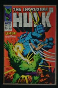 THE INCREDIBLE HULK  # 110 : FINE/VERY FINE : DEC 1968 : MARVEL COMICS.