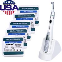 US 16:1 Endodontic Treatment Endo Motor Cordless Handpiece AZDENT+ Super Files