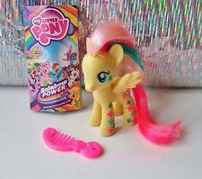 Pony Figura My Little FLUTTERSHY Rainbow neon 2014 G4 Power