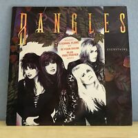 THE BANGLES Everything -1988 UK vinyl LP + INNER +  POSTER EXCELLENT CONDITION