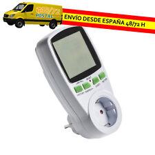 MEDIDOR DE CONSUMO PARA ENCHUFE PANTALLA EXTRAGRANDE CONTADOR ELECTRICO EM0003