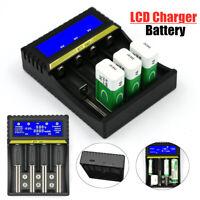 Universal USB LCD Smart Charger For 9V AA AAA Ni-MH Ni-CD 18650 Li-ion Battery