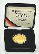 100 Euro-Goldmünze-2002-A-Euroeinführung-Währungsunion-