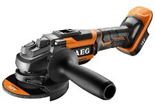 AEG BRUSHLESS ANGLE GRINDER BEWS18125BLC-0 18V 125mm 3-Position Side Handle,Skin