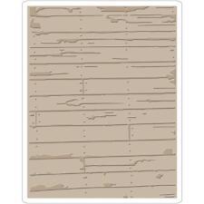 Tim Holtz Texture Fades ~ WOOD PLANKS ~ Embossing Folder ~Sizzix  662370