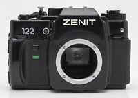 Zenit 122 Body Gehäuse Schwarz SLR Kamera Spiegelreflexkamera Camera