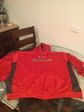Chicago Bulls Red Majestic Hoodie Sweatshirt Size 4XT