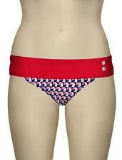 New Panache Size 20 XXXL Page Folded Pant Bikini Shorts Briefs Bottoms Navy&Red