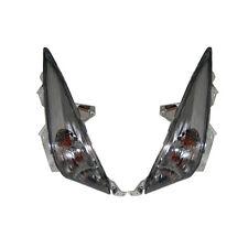 FRECCE LAMPEGGIATORE ANTERIORE SX/DX FUME' PER YAMAHA TMAX T MAX 500 2008>2011