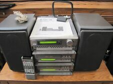 Denon D120/70 Personal Compact Components Stereo System AM/FM,CD,Cass & Speckers