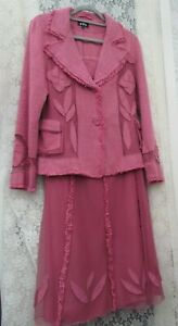 Lovely Per Una - Skirt Suit - Jacket Size 12, Skirt Size 10 - Wedding Occasion