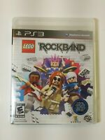 Rock band Lego. For PlayStation 3, Ps3. Warner bros. Rockband video game. Sony!