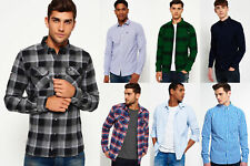 New Mens Superdry Shirts Selection - Various Styles & Colours 2610