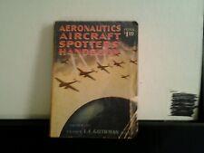 AERONAUTICS AIRCRAFT SPOTTERS HANDBOOK