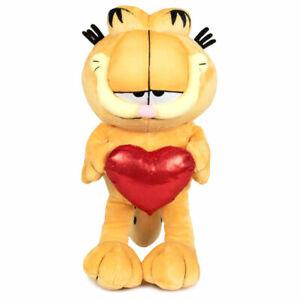 Garfield mit Herz  Plüsch Kuscheltier Plüschtier   36cm
