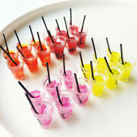 5X 1:12 Dollhouse Miniature Fruit Drink Simulation Food Kitchen Accessories YK
