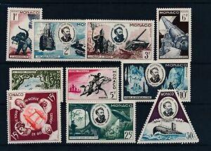 [30856] Monaco 1955 Jules Verne Good set Very Fine MNH stamps