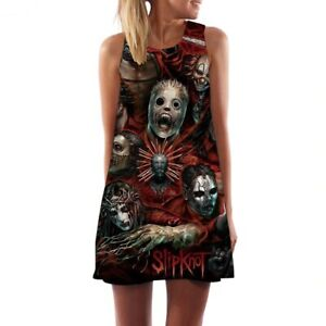 Slipknot Mini Dress, Band print, Size S-3XL, UK Seller, BNWT