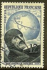 """FRANCE TIMBRE STAMP N° 907 """" AVIATEUR MAURICE NOGUES 12F """" OBLITERE TB"""
