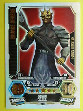 Force Attax Clone Wars 3 (2012, rot), Savage Opress (233), Force Master