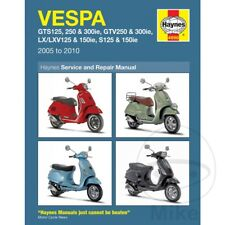 Vespa LXV 125 ie 2012-2013 Haynes Service Repair Manual 4898