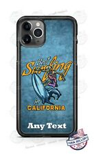 Skeleton Surfer in California Phone Case Cover For iPhone Samsung LG Google