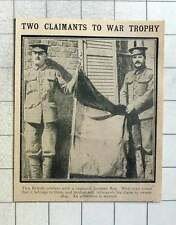 1915 Arbitration Needed For Capture The Flag War Trophy