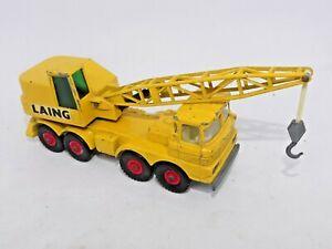 Matchbox King Size SCAMMELL MOBILE CRANE K-12 Lorry 1971 Vintage LAING Lesney