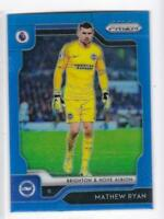 2019-20 Mathew Ryan /199 Panini Blue Prizm Premier League