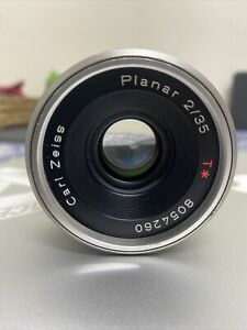 Contax Carl Zeiss Planar T* 35mm f/2 F2 Lens, For Contax G Mount, G1 G2 Film