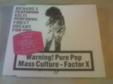 RICHARD X VS KELIS - FINEST DREAMS - 3 TRACK CD SINGLE
