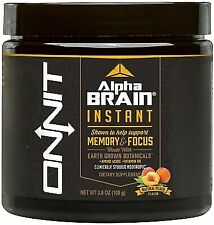 Onnit Alpha Brain Instant Memory and Focus 3.8 Oz Powder