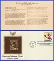 USA2 #3068o U/A GOLDEN REPLICA FDC   Olympics Baseball