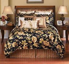 One Croscill Home Susanna Embroidered Ruffled Euro Pillow Sham New