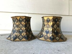 Lampshades - Hand Painted Metal